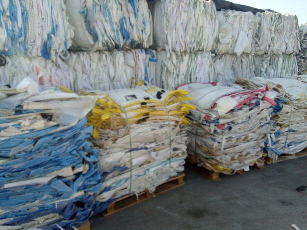 Worki Big Bag w wysokosci 140cm na 1000kg materiałów sypkich zbóż