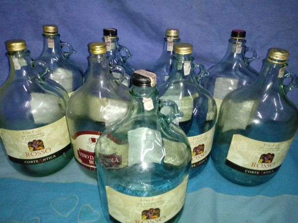 Butle na wino- 5 litrów