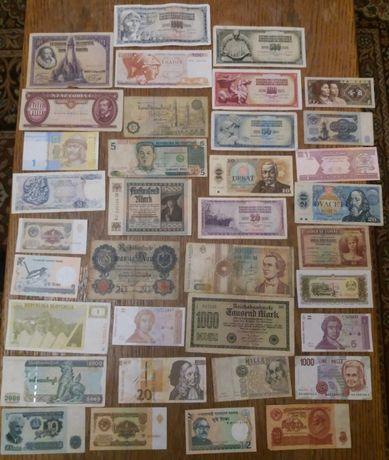 Banknoty 36szt okazja