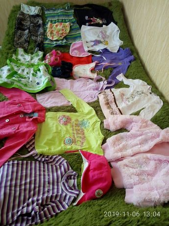 Пакет речей для дівчинки/вещи для девочки