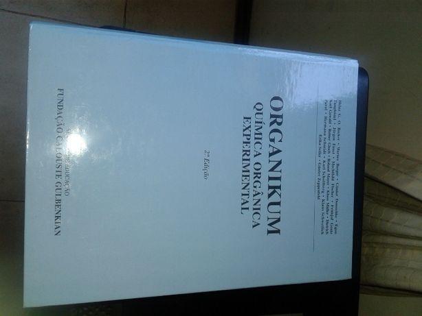 """Livro Química Orgânica Exp. """"Organikum"""""""