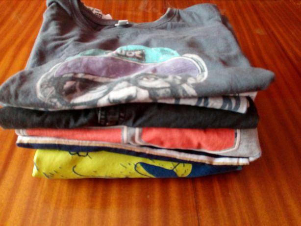Bluzy i bluzki dla chłopca 128+, 6 lat +, 7 szt.