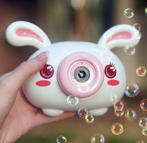 Генератор мыльных пузырей Bubble camera(музыка, свет) Хит продаж