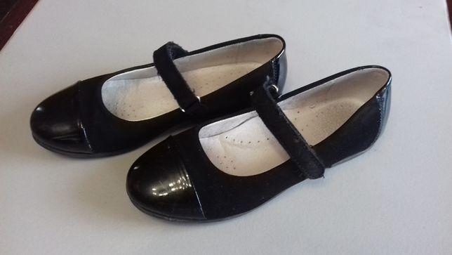 Eleganckie buciki, lakierki dla dziewczynki w rozm. 34