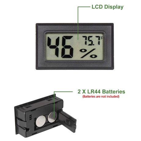 Електронний гігрометр-термометр,гигрометр