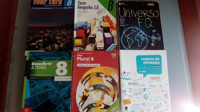 Livros Escolares 8 Ano