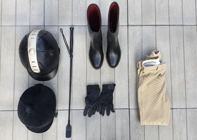 Equitação (toques, calças e galochas)