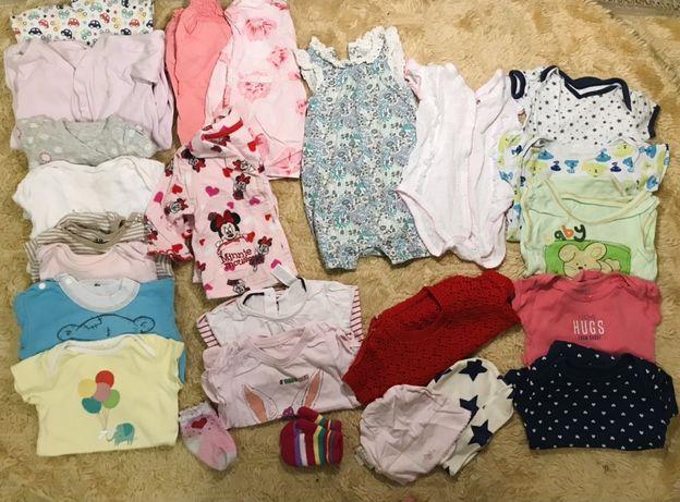 Пакет вещей для девочки 3-6 месяцев