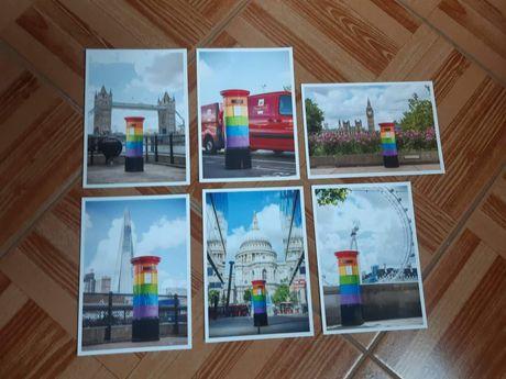 Postais Royal Mail comemorativos do Pride Londres
