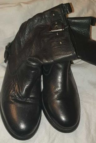Полностью кожаные демисезонные ботиночки Зара, р. 33