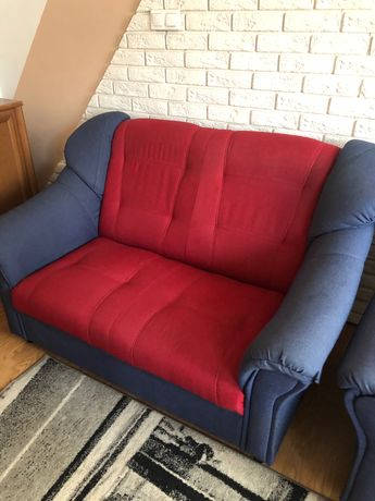 Fotel podwójny, nierozkładany