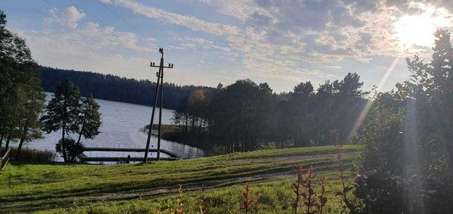 Działka nad jeziorem Piłakno, Maradki k. Mrągowa 8069m2 Mazury