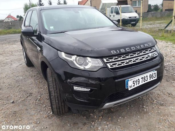 Land Rover Discovery Sport 2.0 TDI 180 4X4 Automatyczna skrzynia biegów szklany dach 7 osobowy