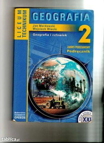 Geografia 2 Zakres Podstawowy Podręcznik Liceum Technikum OPERON !!!