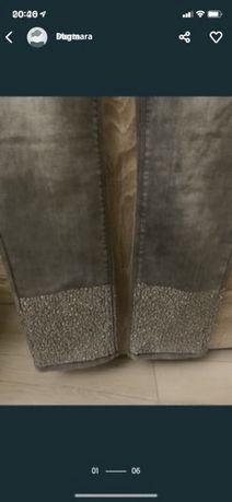 Nowe włoskie spodnie ozdobne nogawki 50zl