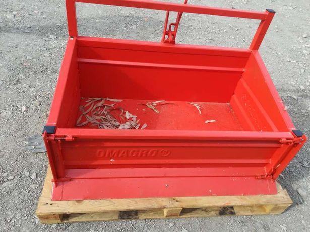 Caixa de carga para mini trator nova basculante