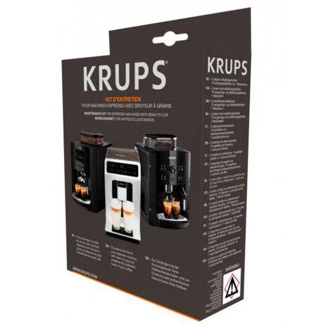 KRUPS - Zestaw do czyszczenia ekspresu do kawy z młynkiem XS530010