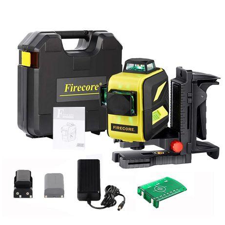 Откалиброваный Firecore F93T-XG 3D зеленый лазерный уровень