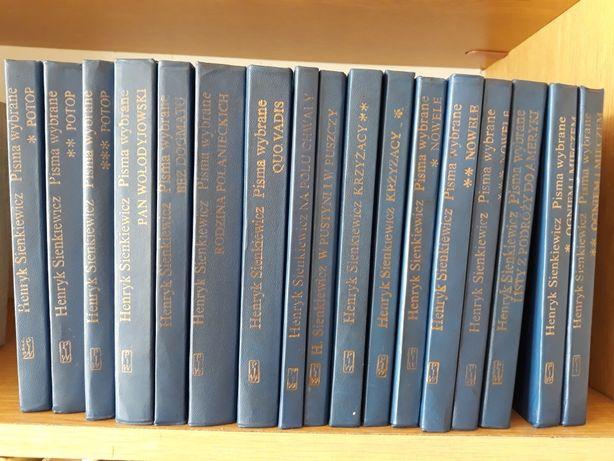 Henryk Sienkiewicz; Pisma wybrane 17 tomów