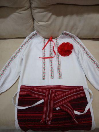 Платье вышиванка детская