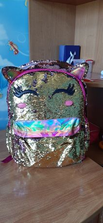 Рюкзак единорог школьный