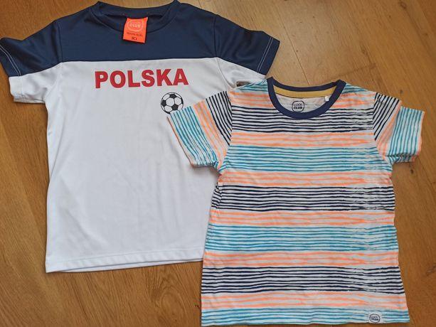 T-Shirt chłopięcy R.110 Sportowy POLSKA NR 9 Cool Club