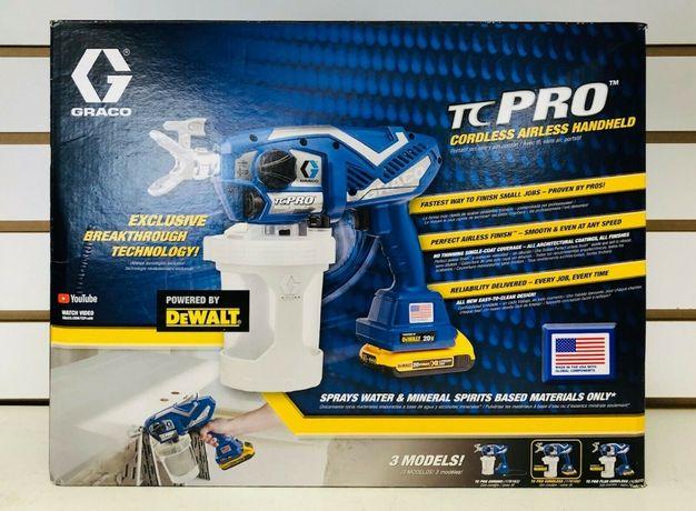 Graco TC PRO и Ultimate ручной аккумуляторный покрасочный аппарат