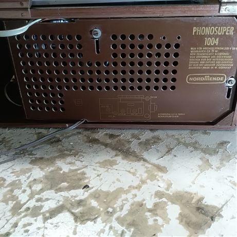 Radio e gira discos novo preço