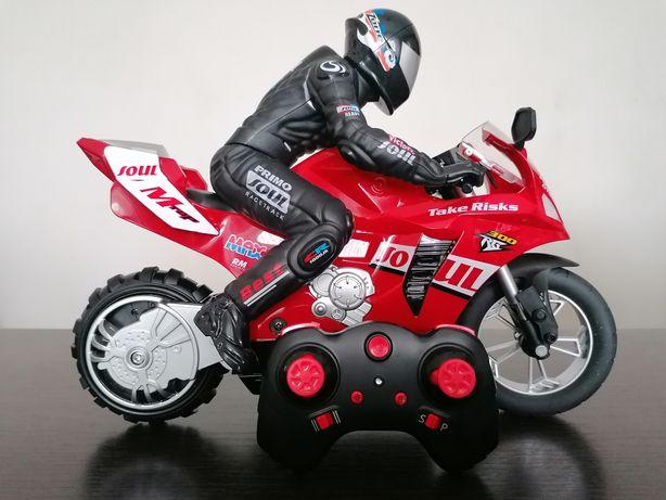 Motocykl motor zdalnie sterowany RC skala 1:6. Nowy, duży