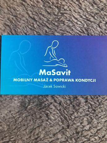 MaSavit Mobilny Masaż &Poprawa Kondycji