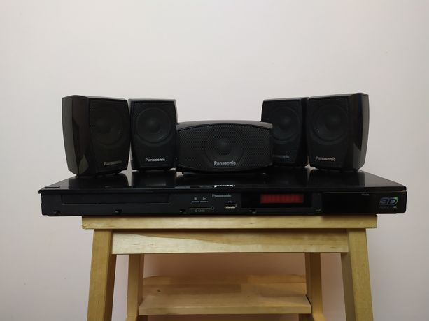 Kino domowe Panasonic 3D SC-BTT270