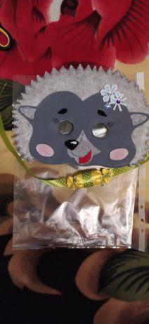 Карнавальна маска їжачка