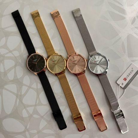 Женские часы Curren Blanche на металлическом браслете миланская петля
