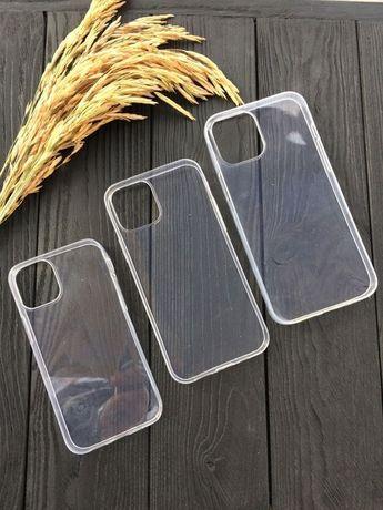 Прозрачный чехол Айфон iPhone 12 pro max есть стекло 11D 10D 7D 8D+ XD
