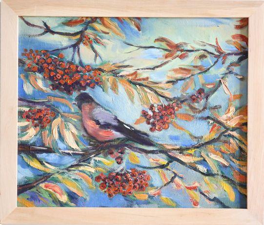 """Obraz olejny ,,Jesienny pejzaż"""""""