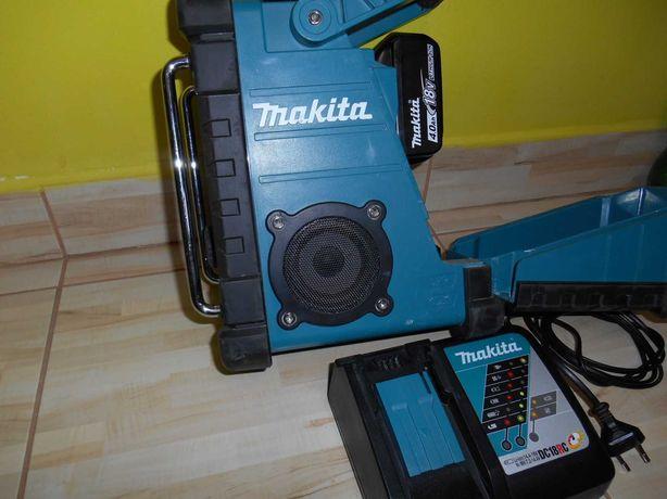 Radio MAKITA - bateria, ladowarka - na dzialke, do garazu, na budowe,
