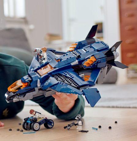 Nave dos Vingadores de Lego