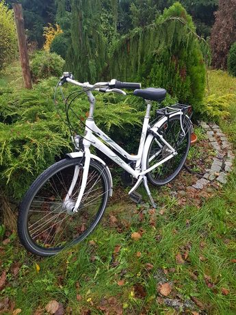 Rower miejski Trek Perpignam -Biała damka - piękny.