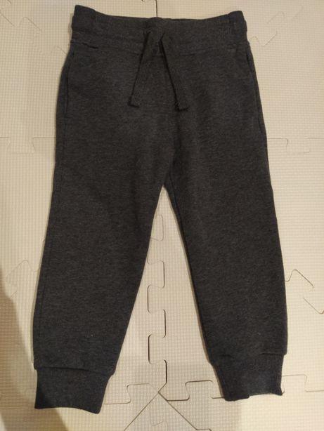 Spodnie dresowe szare h&m 92