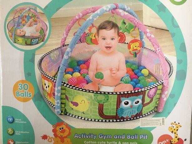 Детский развивающий коврик/бассейн