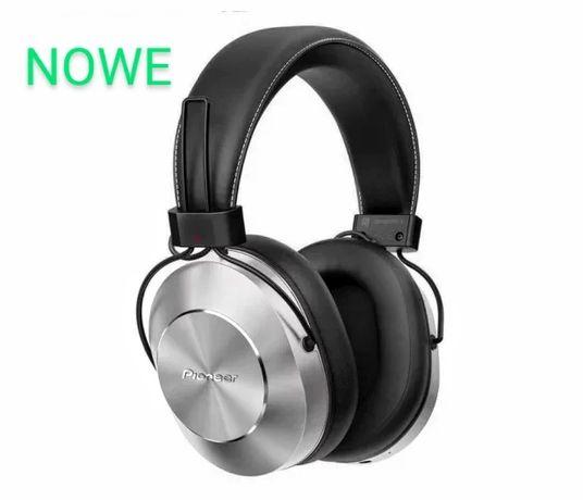 Nowe Słuchawki(Bluetooth, NFC) Pioneer SE-MS7BT Srebrne - GRATIS !