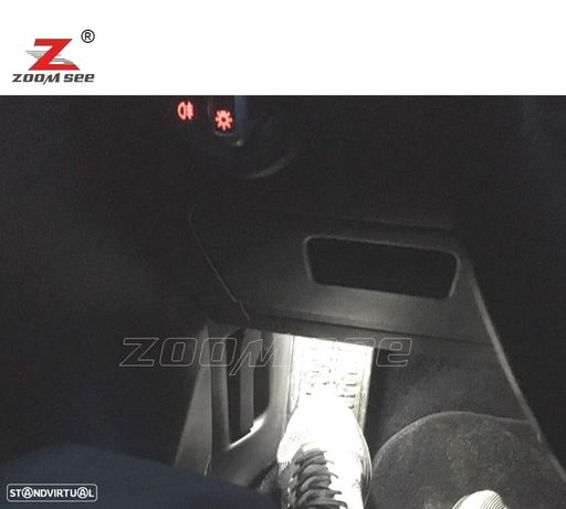 KIT COMPLETO DE 17 LÂMPADAS LED INTERIOR PARA SKODA OCTAVIA MK 3 MKIII RS COMBI 5E5 WAGON (2013 +)