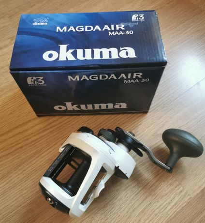 Multiplikator Okuma Magda Air MAA-30D + licznik głębokości