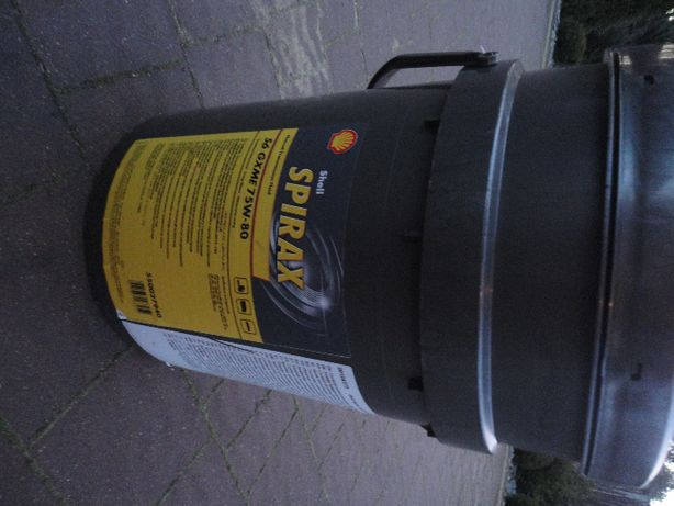 Shell Spirax S6 GXME 75w80 olej przekładniowy syntetyczny