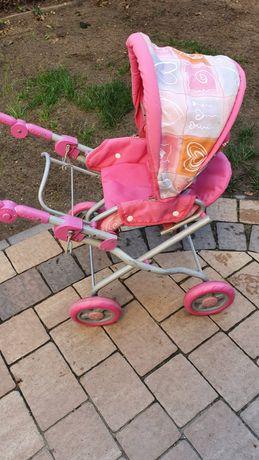 Wózek dla lalek rózowy