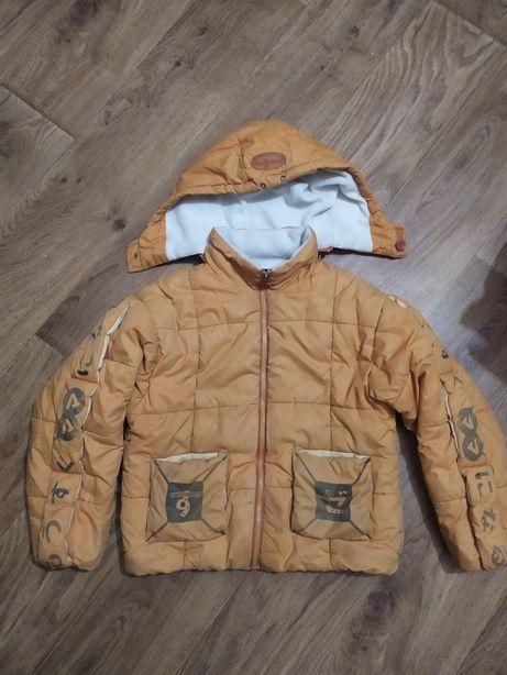 Тёплые куртки на мальчика