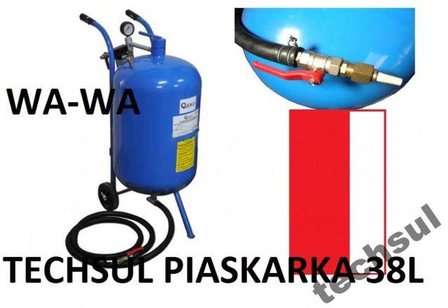 piaskarka syfonowa 38 MASKA+lejek+ 4 DYSZE