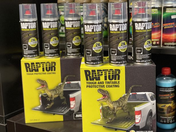 Kits de pintura Tinta Raptor - Jipes-Autocaravanas-Barcos-Tratores
