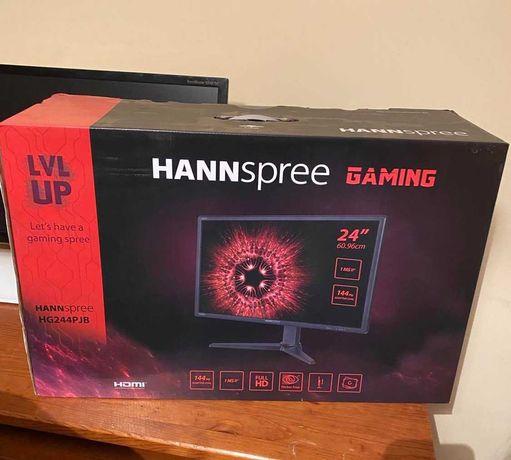 Monitor Gaming Hannspree HG244P Novo com Fatura