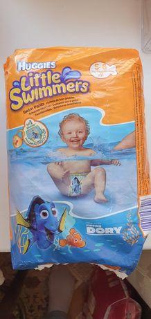 Подгузники-трусики для купания Huggies 5-6